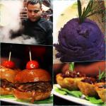 chef Comida criolla fusión:Mofongo de rabo, mini chimis y alitas de cerdo