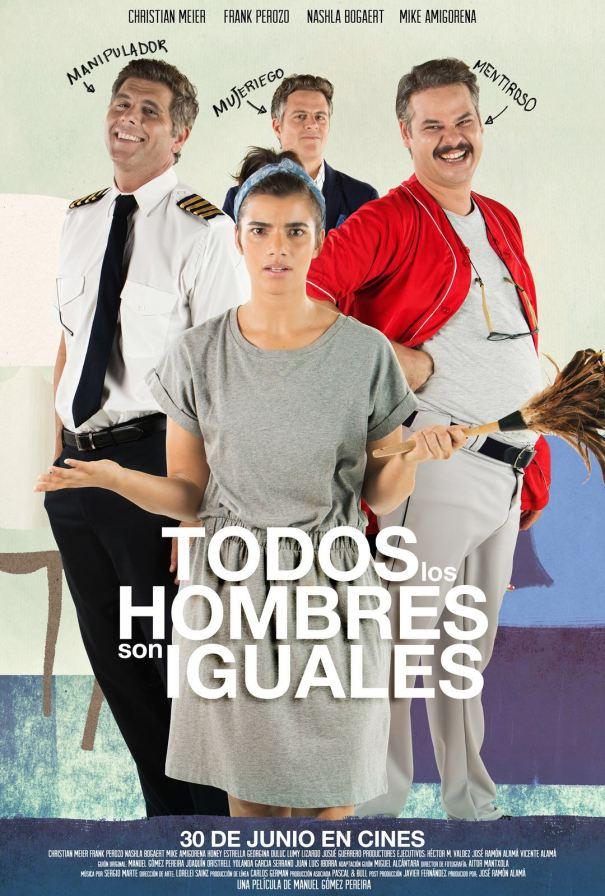 Poster-Todos Los Hombres Son Iguales
