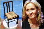 collage silla Silla de autora Harry Potter vendida por US$394.000