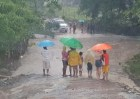 inundaciones Lluvias desplazan a 135 personas; suben niveles presas (RD)