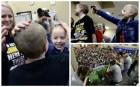 Niños apoyan compañera con cáncer