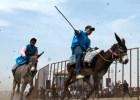 burros Vecinos celebran festival de burros (México)