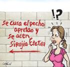 crist El caricaturísta dominicano Cristian Hernández