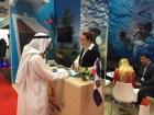 feria turistica dubai El país participó en feria turística en Dubai