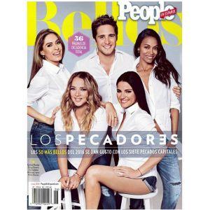 """Zoe Saldaña en portada de """"Los 50 más bellos"""" de People"""