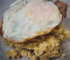 Mangu con huevo frito