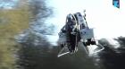 Carrito de golf volador