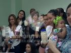 Donación colectiva de leche materna