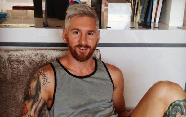 lool El curioso cambio de look de Messi