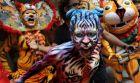 Celebración del Día del Tigre en India