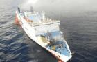 ferry Rescatan pasajeros del Ferry incendiado en PR