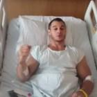 gim Gimnasta que se rompió la pierna en Río manda mensaje desde el hospital