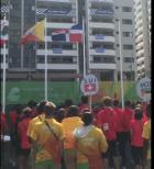 Himno RD en Río