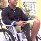 lora Un joven dominicano que hizo de su desgracia un ejemplo de superación