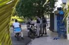 Policías gasolineros