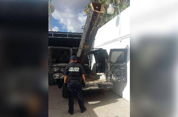 canon Fotos   Narco cañon para lanzar droga