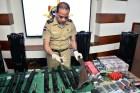 cargamento armas haina Decomisan un cargamento de armas en Haina