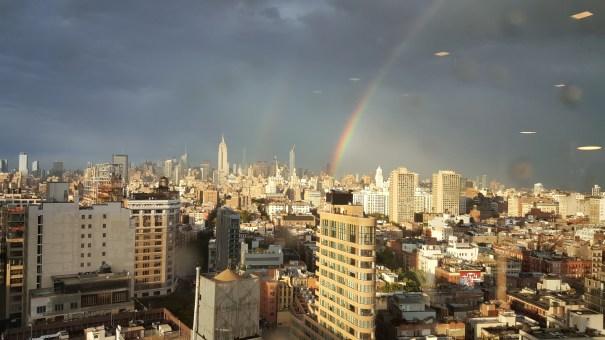 doble arcoiris El doble arcoíris en Santo Domingo y en Nueva York