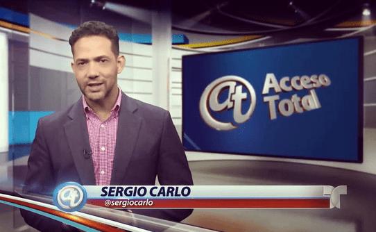 sergio carlo Sergio Carlo pa Telemundo