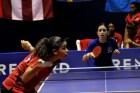 tenis de mesa Equipos dominicanos pasan a la final en tenis de mesa