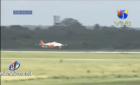 avion aila Video: Así aterrizó avión en el AILA, luego de tres horas dando vueltas