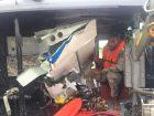 fuselaje Localizan parte de avioneta reportada desaparecida (RD)