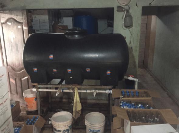 romo Fotos   Dentro de un laboratorio ilegal de romo