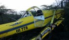 avioneta Cae una avioneta en Montecristi; piloto sale ileso