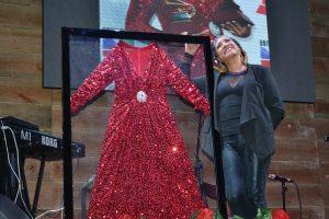 dress Vestido usado por Milly en los Latin Grammy en memorabilia de Jalao