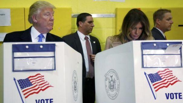 trump1 ¿El tipo está chivo por el voto de su mujer?