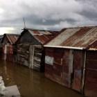 wow Lluvias destruyen más de 27 casas en Santiago