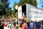 Video – Reperpero en reparto de cajas navideñas