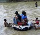 Crecida ríos aislan comunidades en Puerto Plata