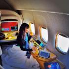 em Las rutas de avión más largas del mundo