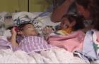 eva y erika sandoval Siamesas hispanas se reencuentran tras operación (video)