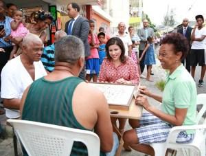margarita c Margarita almorzará con familias pobres