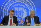 RD y Estados Unidos firman acuerdo aéreo