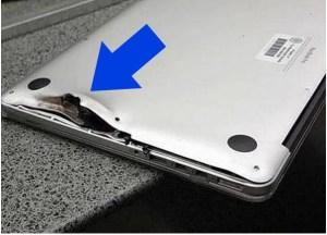 bala ¡Su laptop en un bulto le salvó la vida!