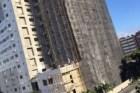 edificio construccion Confirman 6 heridos tras caída de andamio en la Bolívar