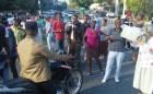 protesta Sector de la Capital sin agua desde hace 8 meses