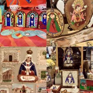 virgen Artesanos expresarán devoción a la Virgen