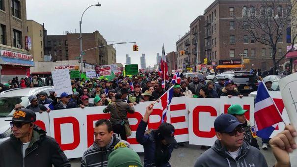 Fotos   Dominicanos en NY también marcharon