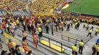 ecuador Reperpero en juego de fútbol en Ecuador; 40 heridos