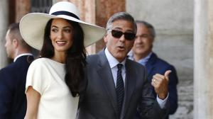 george clooney Otro más   La jeva de George Clooney preñá de gemelos