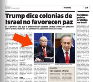 Periódico dominicano mete la pata y publica una foto equivocada de Trump