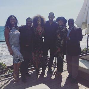 El reencuentro muy esperado: La familia de 'El Príncipe de Bel-Air