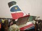 avion sudan Se salvaron en tablita