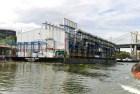 barcaza Suspenden licencia a barcaza eléctrica en río Ozama