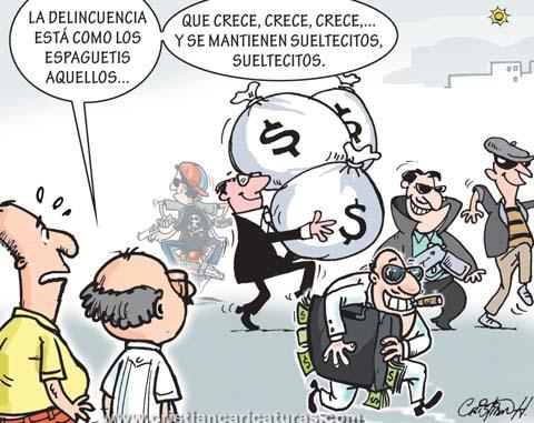 "caricatura10 Caricatura – ""Como los espaguetis..."""