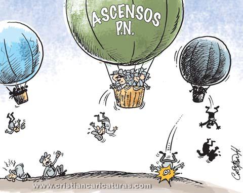 """caricatura3 Caricatura – """"Ascensos y descensos"""""""